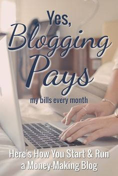 Blogging is becoming a great way to earn a living, but there are some steps involved. If you're on the fence about starting a blog, here's how you do it today!