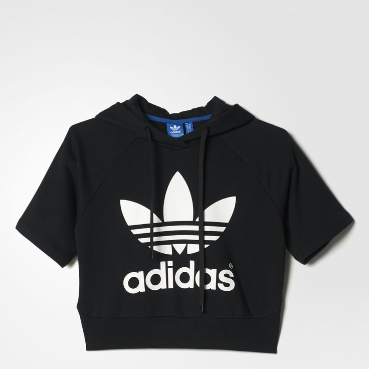 Womens Running Crop Hoodie || ADIDAS || $90 Clothing, Shoes & Jewelry : Women:adidas women shoes