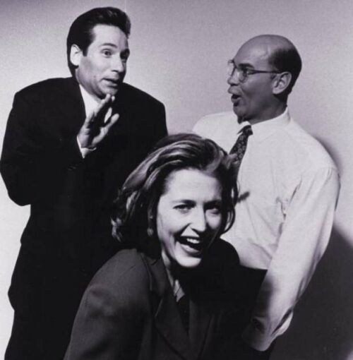 Image detail for -David, Gillian and Mitch - The X-Files Photo (7772034) - Fanpop ...