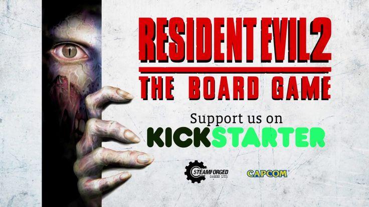 Pasaste horas de tensión con el videojuego, ¿te atreverás a revivirlo con el juego de mesa? https://www.kickstarter.com/projects/steamforged/resident-eviltm-2-the-board-game #juegosdemesa #residentevil #zombie #zombies