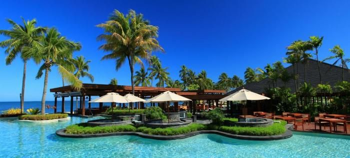 Why Fiji is becoming the new honeymoon dream location.  So Why opt for a Honeymoon in Fiji? Ten Reasons to decide on Fiji. 1. Unspoiled.. Republic of Fiji is one amongst the foremost pristine places on earth. No hi-rises ugly hotels! On your Republic of Fiji honeymoon you will keep relaxed and watch romantic sun sets. 2. The Ocean...crystal clear, lukewarm, world reknowned diving in Republic of Fiji. 3. ....