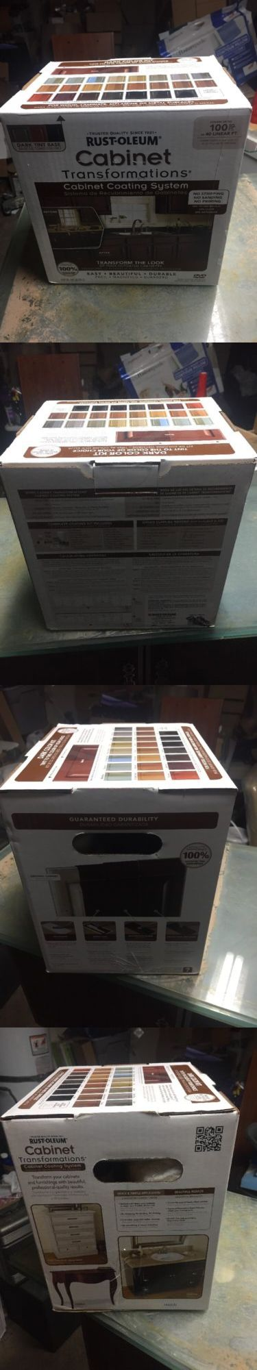 Other Paint and Varnish 180980: Rust-Oleum 258240 Dark Tint Base Cabinet Transformations Kit, Small -> BUY IT NOW ONLY: $59.99 on eBay!