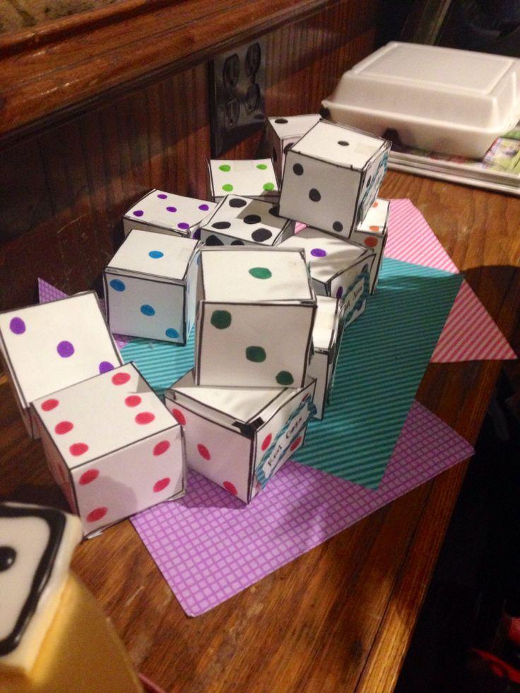 Bunco prize boxes | Bunco in 2019 | Bunco themes, Bunco prizes, Bunco party