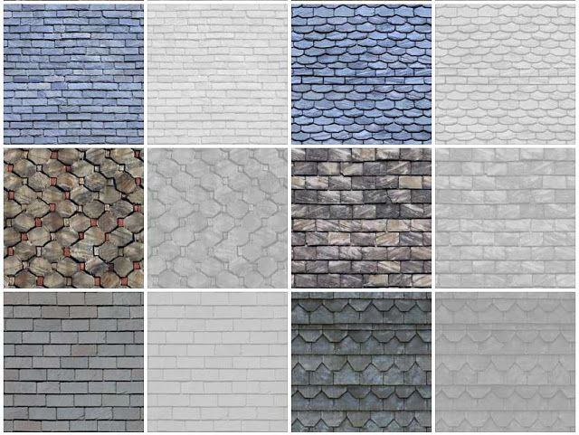 Here are the different textures of slate roof. #roofing #roofs #roofreplacement…