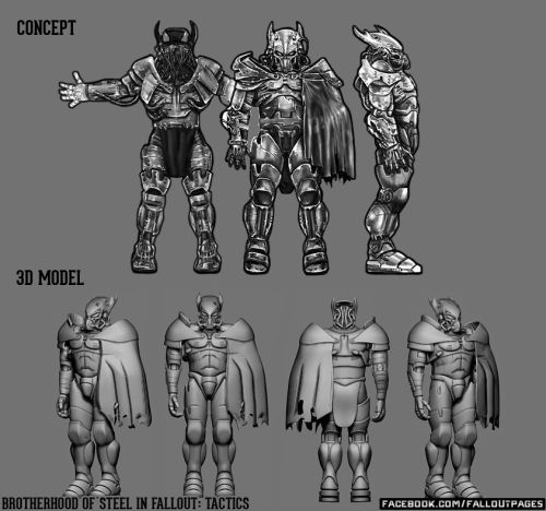 Power Armor in Fallout: Tactics  fallout fallout tactics power armor fallout bos brotherhood of steel twitter