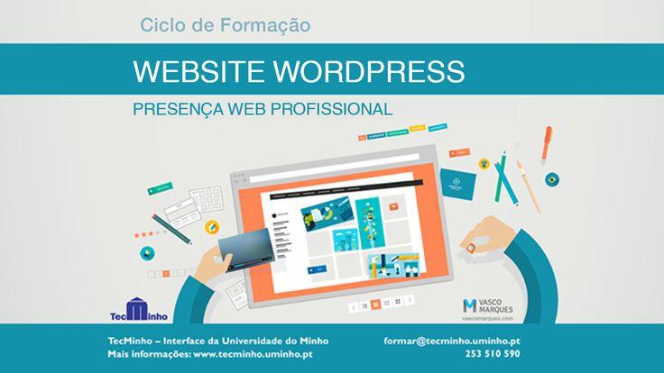 Formação Wordpress - TecMinho - Vasco Marques