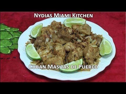 Cuban Masitas de Puerco - Pork Chunks - YouTube