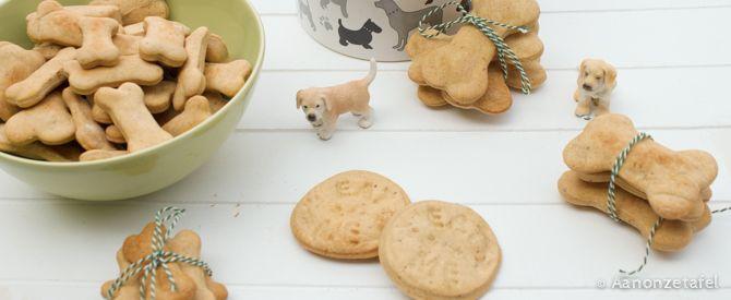 Hondenkoekjes zelf bakken