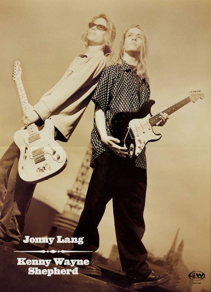 Jonny Lang & Kenny Wayne Shepherd Poster - Retro Music Poster - Fender Guitar - Vintage Music Decor - Music Gift - Music Memorabilia by MusicSellerz on Etsy