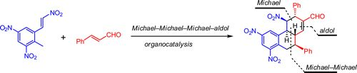 Organocatalytic Enantioselective Michael–Michael–Michael–Aldol Condensation Reactions: Control of Five Stereocenters in a Quadruple-Cascade Asymmetric Synthesis of Highly Functionalized Hexahydrophenanthrenes