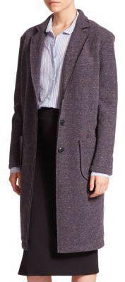 ATM Anthony Thomas Melillo Bonded Faux Fur-Lined Coat