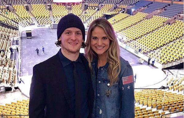 Meet Torey Krug S Pretty Wife Melanie Krug Bio Wiki Nhl Players Boston Bruins Hockey Teams