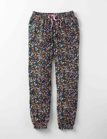 Mini Boden Printed Trousers Multi Harvest Sprig Girls Finally - trousers as comfortable as your pyjamas. With a relaxed fit, brushed twill fabric and drawstring waist, they can go from Saturday morning lounging to fun at the park without a costume change http://www.MightGet.com/january-2017-13/mini-boden-printed-trousers-multi-harvest-sprig-girls.asp