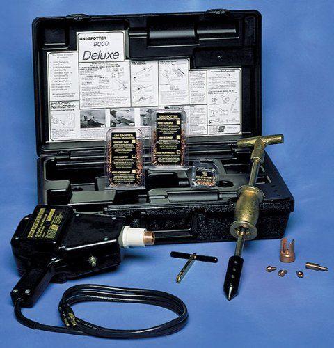 H & S Auto Shot 9000 Welder Stud Kit. Eliminator Slide-by-Slide adapter with Extend Tip. Uni-puller Deluxe Slidehammer. Unin spotter Deluxe Gun. Mini Puller. Welding stud 2.2mm.