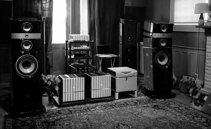 High end audio audiophile FOCAL speakers