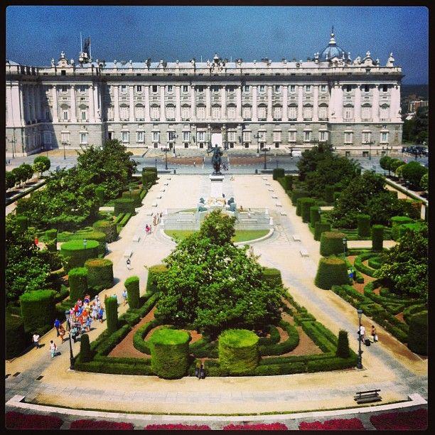 Plaza de Oriente in Madrid, Madrid
