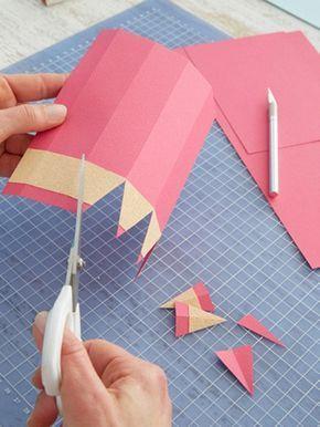 Kreative Geschenkverpackung zum Schulanfang