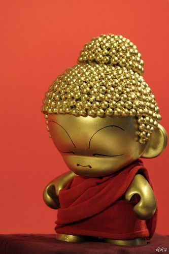Buddha Munny.Dunny / Munny More Pins Like This At FOSTERGINGER @ Pinterest