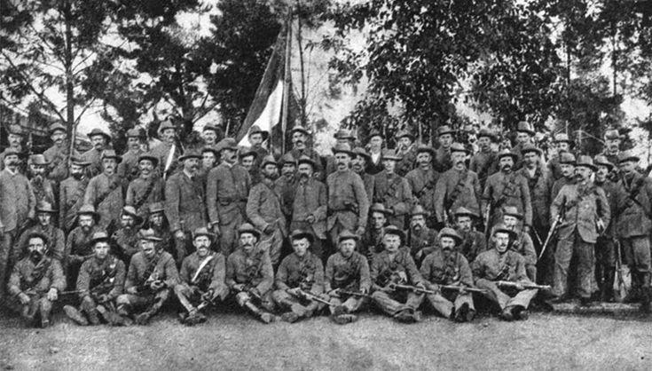 Boere Volunteers fighting for De La Rey