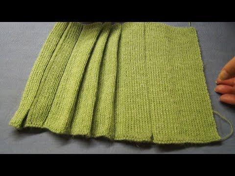 Наборный ряд для резинки при машинном вязании. Часть 1 - YouTube