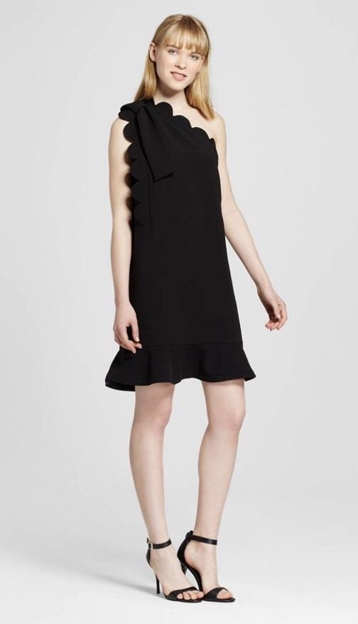 VICTORIA BECKHAM FOR TARGET WOMEN'S DRESS NWT L ONE SHOULDER WEAR TO WORK  MINI | Clothing
