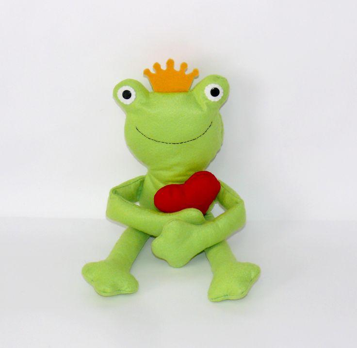 PRINCIPE RANOCCHIO, favola, favole, pupazzo ranocchio, la principessa e il ranocchio, film disney, pupazzi disney, cartoni animati, cartoni disney