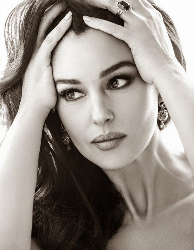 Smartologie: Monica Bellucci for Woman Madame Figaro Spain April 2014: