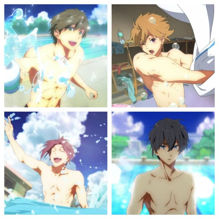 that one swimming anime