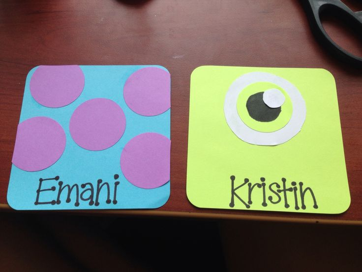 Monster's Inc door decs!