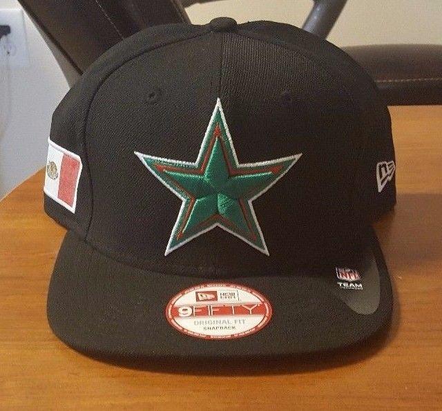 DALLAS COWBOYS NFL MEXICO HERITAGE NEW ERA 9FIFTY SNAPBACK HAT #NEWERA #DallasCowboys