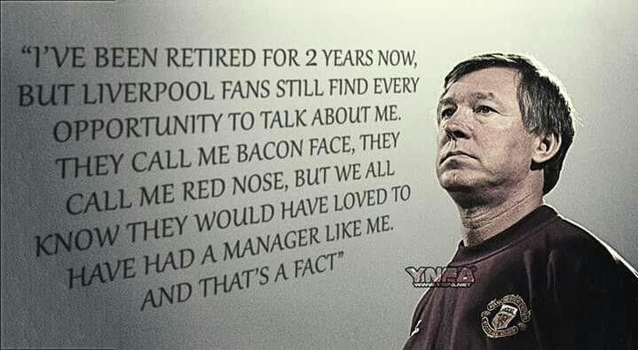Sir Aex Ferguson, Man Utd.