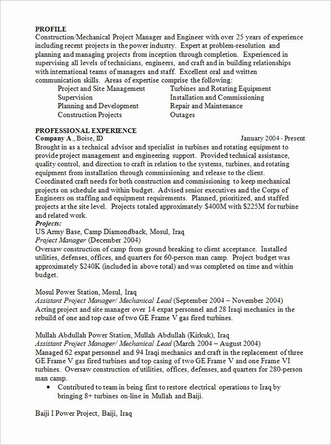 20 Construction Project Coordinator Resume Good Resume Examples Best Resume Format Nursing Resume Template