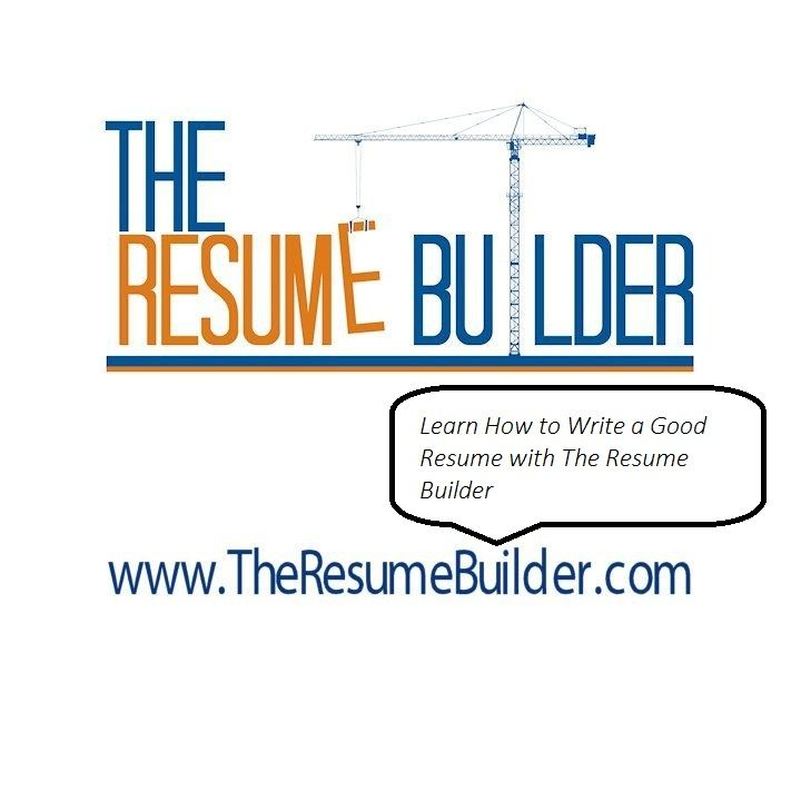 53 best The Resume Builder images on Pinterest Resume builder - my resume builder