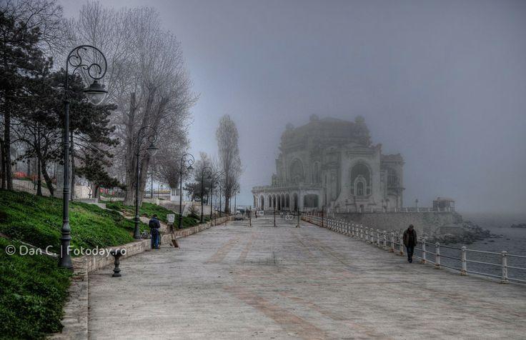 Haze by Dan Daniel on 500px #Constanta #Cazino #Urban #City #Sea #Blacksea #Fog