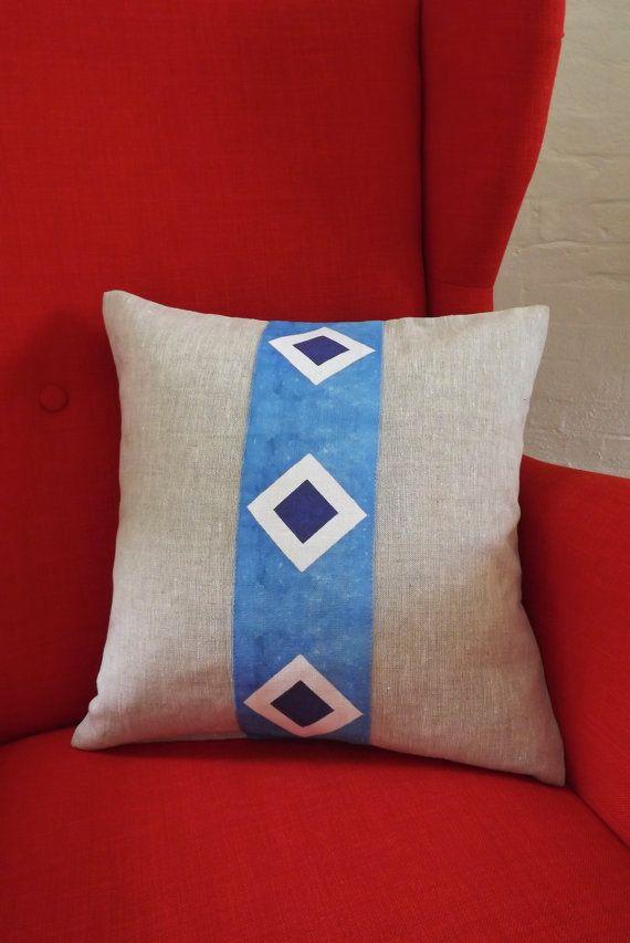 Handmade Cushion Cover - PaabsPrints River