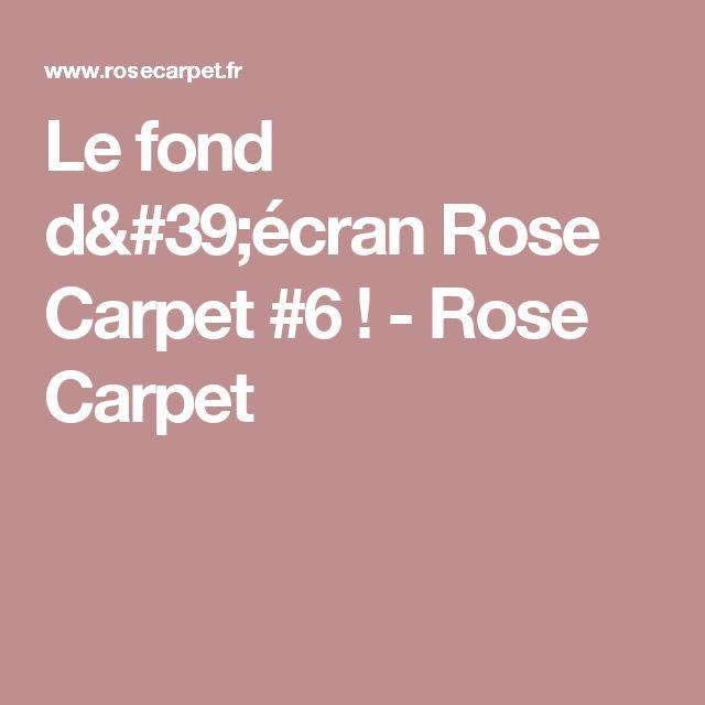 Le fond d'écran Rose Carpet #6 ! - Rose Carpet