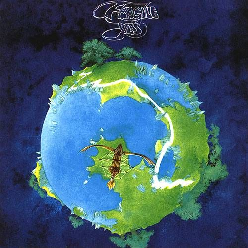 Wore out my Yes: Fragile album, awesome collection... Close to the Edge, Roundabout... album art now reminds me of a Josh Simpson glass world!