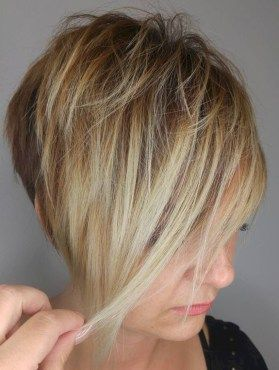 44 Funky Short Pixie Haircut Long Bangs Ideas