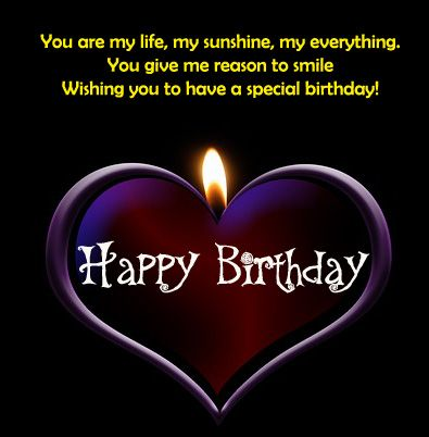 Happy Birthday Wishes for Girlfriend http://www.happybirthdaywishesonline.com/