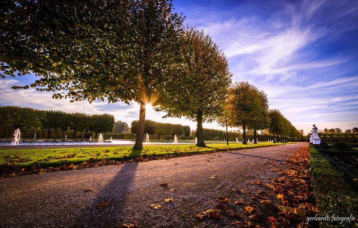 Großer Garten in den Herrenhäuser Gärten Hannover im Herbst | Fotograf Hannover