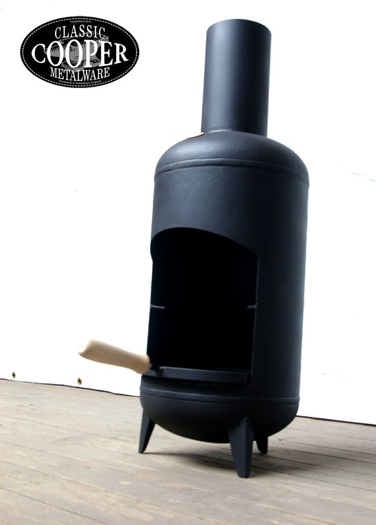 Delightful Large Delta BBQ Chiminea From My Range Of Handcrafted Chimineas Up Cycled  From Old Gas