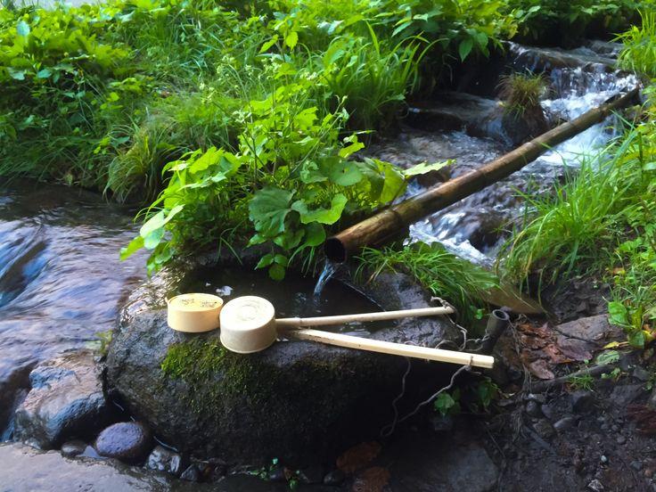 小川の手水