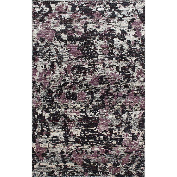 Ecarpetgallery Ecarpet Gallery Hand-knotted Sari Silk, Ivory Sari Silk Rug