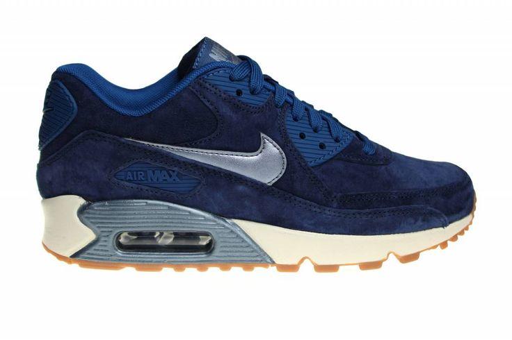 Nike Air Max 90 Prm Suede voor dames in suède leer. Naar ons mening één van de mooiste schoenen van de suéde modellen voor dames.