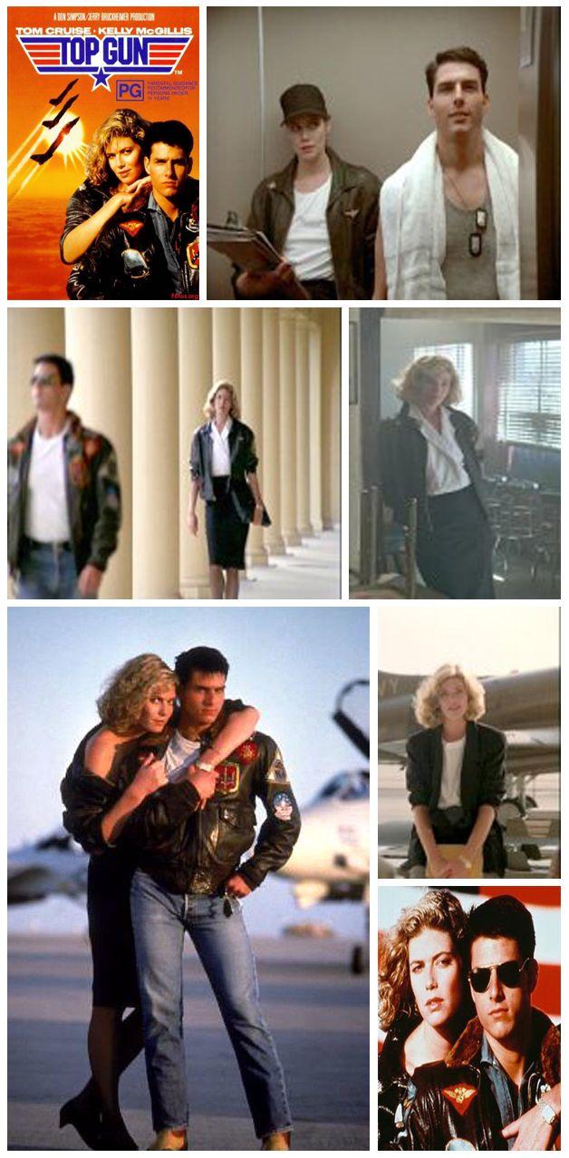 """Kelly McGillis/Tom Cruise - """"Top Gun"""""""