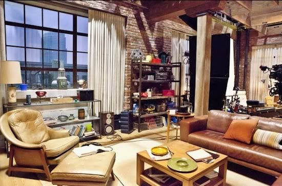 the new girl apartment- love the eclectic vibe