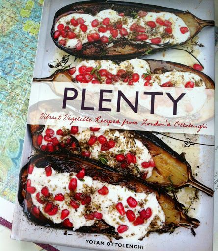 The cover on this one says it all.  Green With Renvy: Meatless Monday with A Winter Tart via Plenty