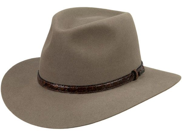 Akubra hats have been associated with Australia since they were first made in 1905. They are worn in the Australian bush and the outback.