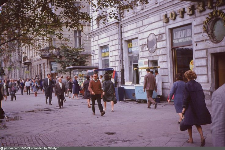 1969 Warszawa. Аleje Jerozolimskie