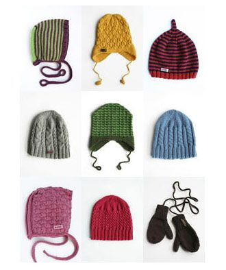 adorable knit hats
